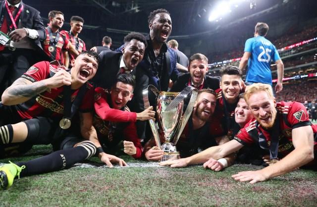Atlanta se vestirá de gala este lunes por la celebración del campeón de la MLS