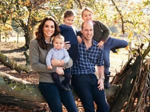 La felicitación de Navidad de los duques de Cambridge (FOTO)
