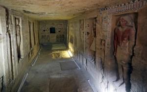 Egipto presentó una tumba antigua única en su clase
