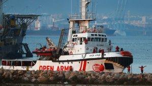 Bruselas insiste en que el Open Arms debería desembarcar lo antes posible