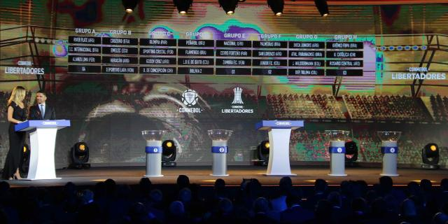 Así quedaron los cruces de la Copa Libertadores 2019 (Fotos)