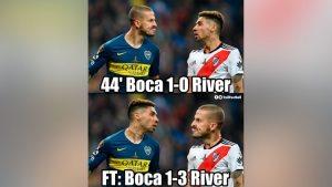¡No te pierdas los mejores MEMES del histórico título de River Plate ante Boca Juniors!