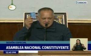 El 10 de enero tomamos Caracas, dice Diosdado Cabello