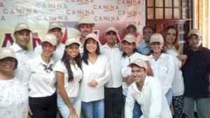 Conformada estructura regional del partido político Camina en Carabobo