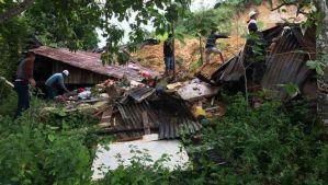 Ocho muertos y dos desaparecidos por avalancha en Indonesia