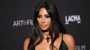 ¡Lo hizo de nuevo! Kim Kardashian posó con un vestido totalmente transparente en Instagram (Foto)