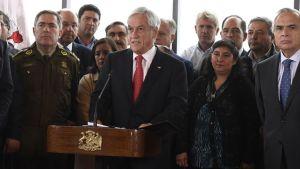 Sebastián Piñera a dictadura de Maduro en Venezuela tiene sus días contados