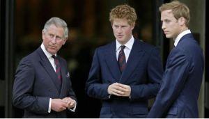 """Harry mostró preocupación por los príncipes William y Carlos, """"atrapados"""" en el sistema real"""