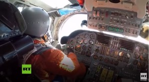 Así fueron las maniobras aéreas en cabina de los bombarderos rusos en Venezuela (Video)