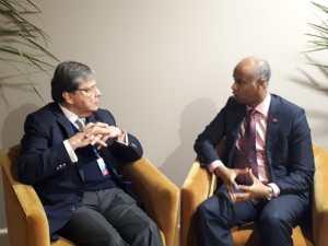 Canciller colombiano destacó el apoyo de Canadá ante la crisis migratoria proveniente de Venezuela