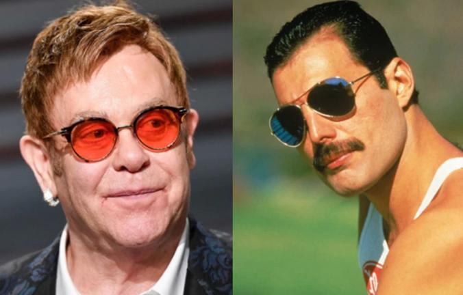 La emotiva despedida y último regalo de Freddie Mercury a Elton John antes de morir
