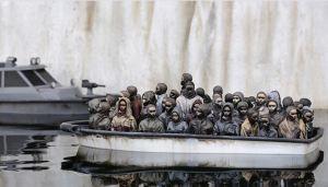 Banksy está de Navidad: Vende una escultura original por solo 2 libras… pero con una condición