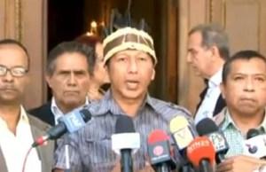 Romel Guzamana: Padrino López está matando a los indígenas de Venezuela