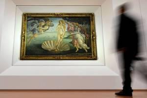 """Belleza irresistible: Hombre sufre un infarto mientras observaba """"El nacimiento de Venus"""" de Boticelli"""