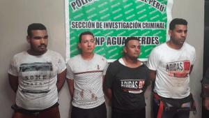 Solicitan prisión preventiva para banda de venezolanos en Perú