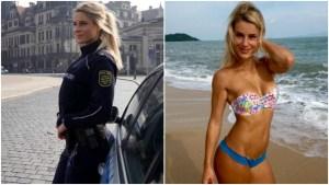 La policía más bella de Alemania recibió un ultimátum de sus jefes