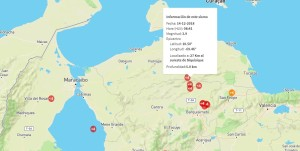 Registran sismo de magnitud 3,9 en Siquisique este viernes #14Dic
