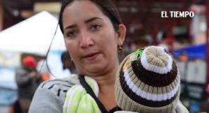 La tragedia de una venezolana que cruzó el río Arauca con su bebé en brazos (video)