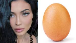 """Un huevo se convierte en la foto con más """"likes"""" de Instagram y supera a Kylie Jenner"""