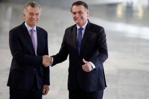 Bolsonaro visitará a Macri en Buenos Aires el #6Jun