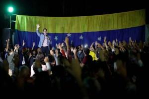 Hoy tenemos una cita histórica…las miradas del mundo estarán sobre nuestra Patria, dice Guaidó