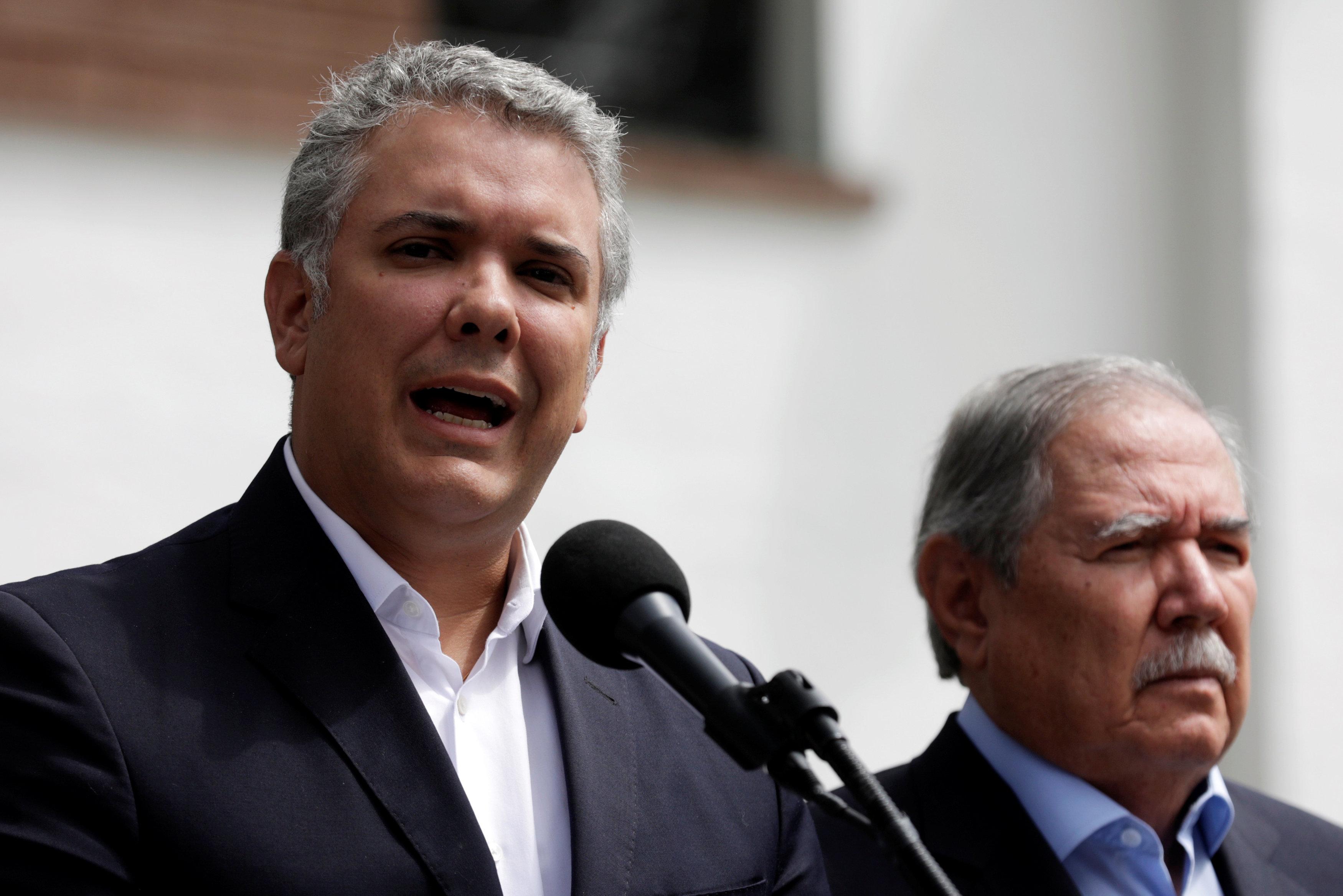 Duque reitera llamado a Cuba para que entregue a criminales del Eln