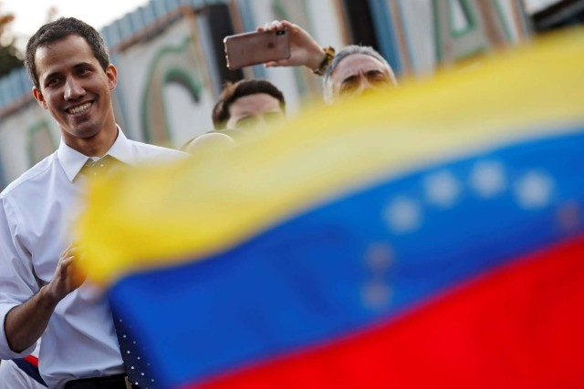 Guaidó apuesta por un proceso de transición similar al chileno