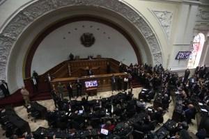 Este es el orden del día de la Asamblea Nacional para este martes #8Ene