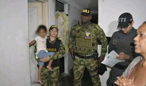 Rescataron en Colombia a una niña de 4 años secuestrada en Venezuela