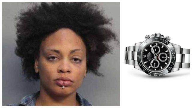 A que no adivinas en dónde se escondió esta señorita un Rolex de lujo que por poquito se roba…