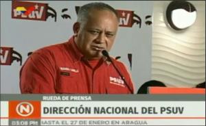 Diosdado: Militares detenidos dijeron que iban a hacer una operación en rechazo a Nicolás Maduro