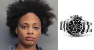 Mujer escondió un Rolex de más de 100 mil dólares en un íntimo e inesperado lugar