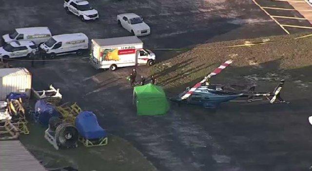 Un helicóptero decapitó a una persona en un aeropuerto de Florida