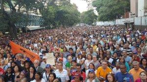 Montalbán también se rebeló contra Maduro durante cabildo abierto este #21Ene (Fotos y video)