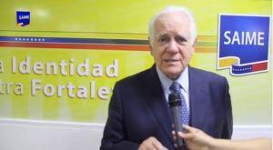 """¡Otro más! Eduardo Fernández """"agradeció"""" al Saime por el servicio ofrecido, pese a las fallas del organismo (Video)"""