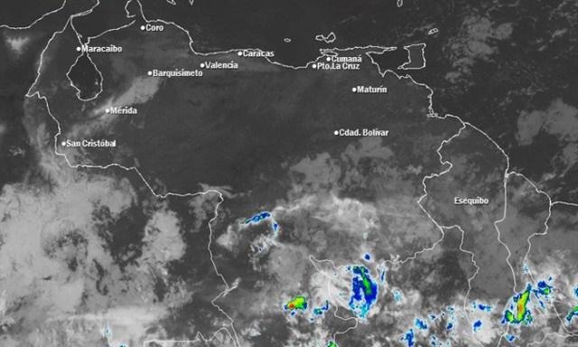 El estado del tiempo en Venezuela este domingo #20Ene, según Inameh