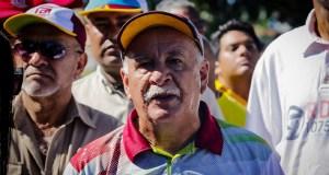 Venezolanos rechazaron sentencia de un tribunal militar contra sindicalista Rubén González (VIDEO)