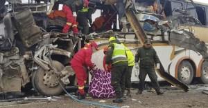 Al menos 11 muertos y 25 heridos en accidente de tráfico en el sur de Bolivia
