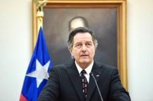 Canciller Roberto Ampuro: Chile no reconoce el gobierno de Nicolás Maduro (Video)