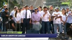 Al Grito de ¡sí se puede! recibieron a Juan Guaidó en cabildo abierto en Caricuao este #19Ene (Video)