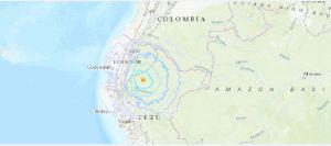 Un sismo de magnitud 5.8 se registró al norte Perú sin causar daños