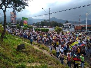 Táchira se manifestó contra la usurpación de poder #23Ene