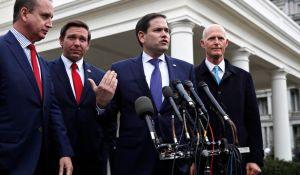 Senadores republicanos respaldan a la oposición de Venezuela tras reunirse con Trump