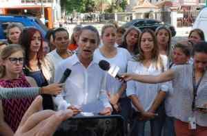 Movimiento Mujeres con Voluntad pidió a la Guardia Nacional ponerse del lado del pueblo este #23E
