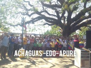 ¡A grito de libertad! Apureños protestan contra el régimen de Nicolás Maduro #23Ene (Video)