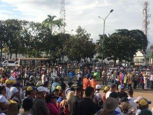 ¡Naguará! La increíble foto aérea de la gran convocatoria opositora en Barquisimeto #23Ene