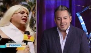 """¿Haciendo lo que critica? Con peluca y maquillaje Daniel Sarcos imitó a una """"miss tonta"""""""