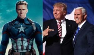 "Protagonista de Capitán América llamó ""gusano"" a vicepresidente de EE.UU."