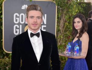 ¿Quién es 'la chica del agua' que se robó todas las miradas en los Golden Globes 2019?