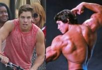 ¡IDÉNTICO! Hijo de Arnold Schwarzenegger recreó la icónica pose del actor